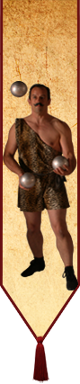 If you need a circus strongman, we're your men!